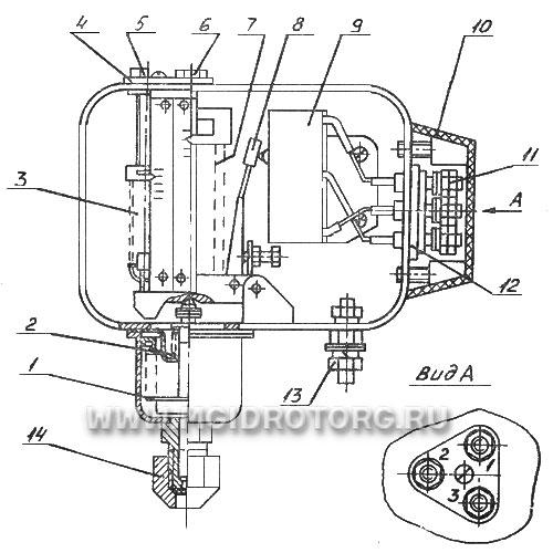 Д210-11 схема подключения